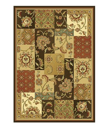 Mocha Kashan Views Rug