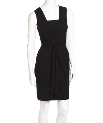 Onyx Jet Set Nursing Dress