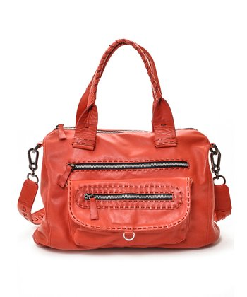 Red Billie Shoulder Bag