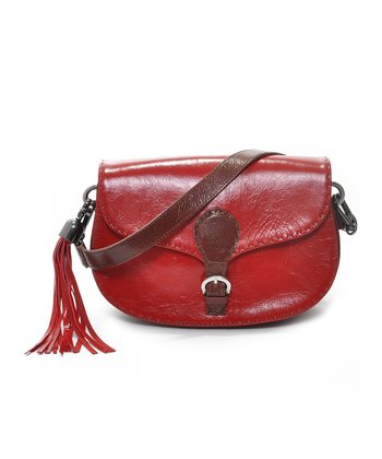 Red Marion Crossbody Bag