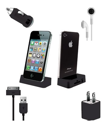 Vibe Black Ultimate Mobile Set for iPhone/iPod