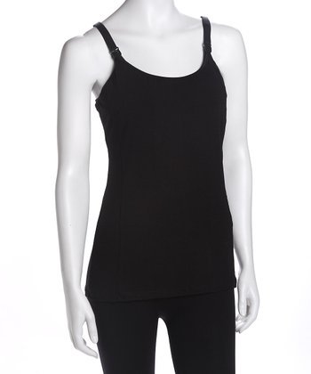 Black Nursing Tank