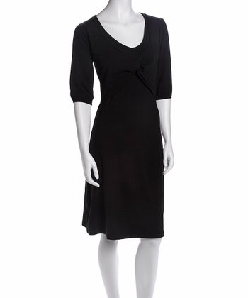 Black Nursing Dress
