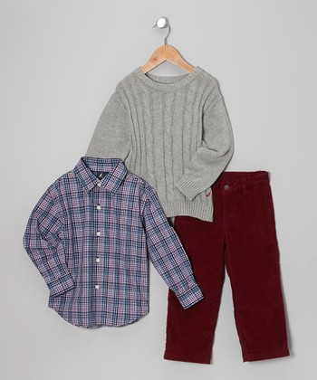 Ash Cable-Knit Sweater Set - Toddler & Boys