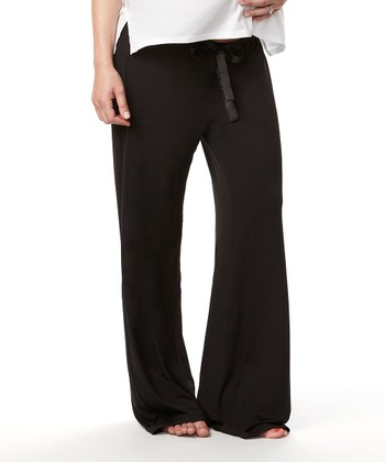 Black My Darling Maternity Lounge Pants - Women