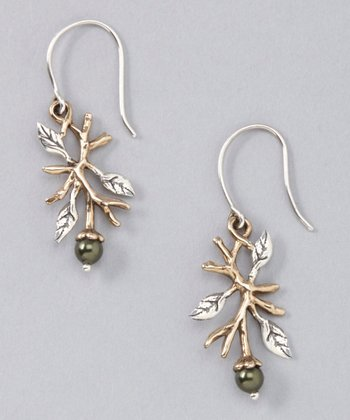 Sterling Silver & Bronze Earth Elements Earrings