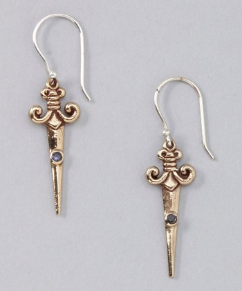 Bronze Sword of Truth Earrings