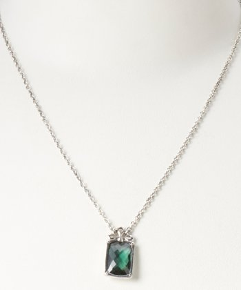 Green Quartz Incandesca Brightness Keeps Necklace