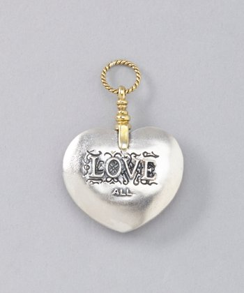 Sterling Silver Love & Risk Pendant