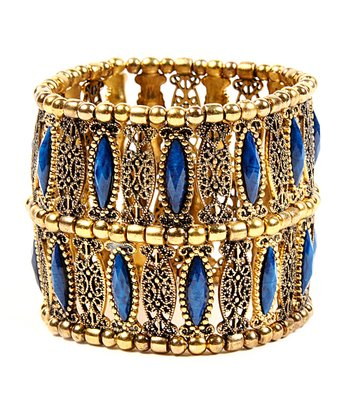 Blue Lapis Napeague Stretch Bracelet