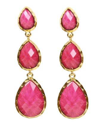 Fuchsia East Hampton Earrings