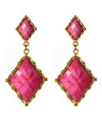 Fuchsia Wainscott Earrings