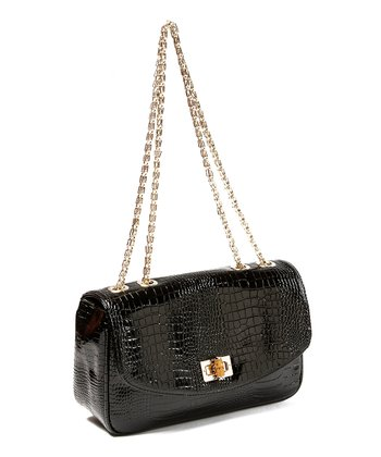 Black Southampton Shoulder Bag