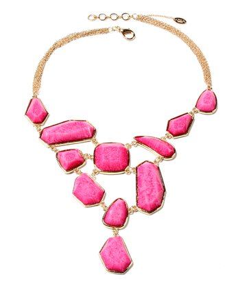 Fuchsia Heidi Necklace