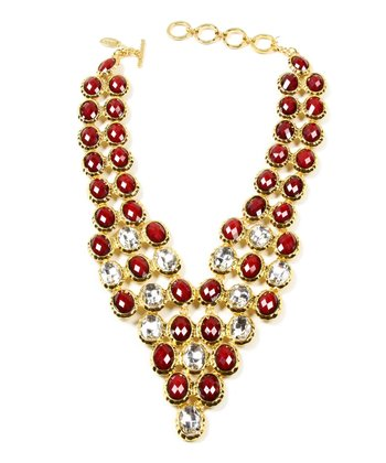 Ruby Philippa Evening Necklace