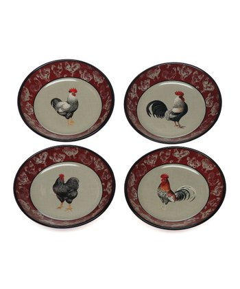 Country Rooster Bowl Set