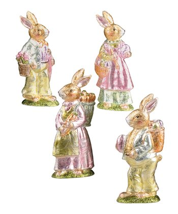 Boy & Girl Rabbit Collectible Set