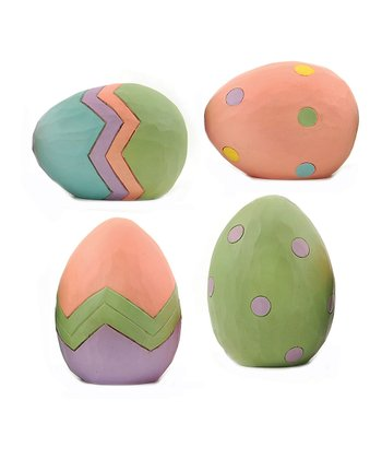 Pastel Easter Egg Collectible Set