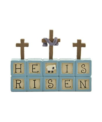 'He is Risen' Cross Collectible