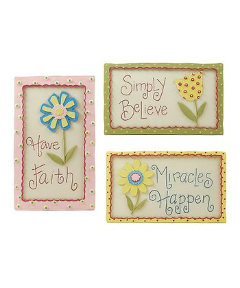 Faith Wall Art Set