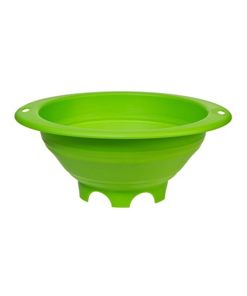 Green 3-Qt. Collapsible Colander