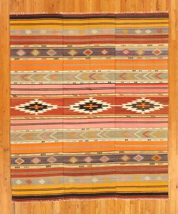 Multicolor Wendy Kilim Wool Rug
