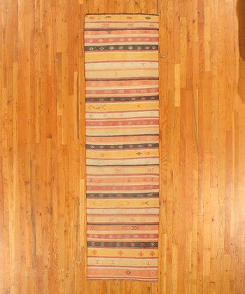Multicolor Amy Kilim Wool Rug