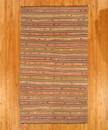 Multicolor Jennifer Kilim Wool Rug
