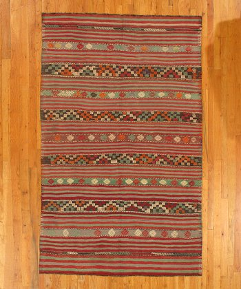 Multicolor Ashley Kilim Wool Rug