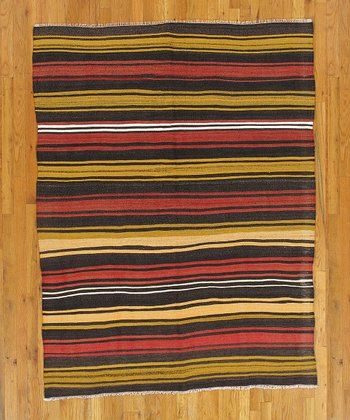 Multicolor Annemarie Kilim Wool Rug