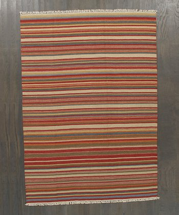 Multicolor Alyssa Kilim Wool Rug