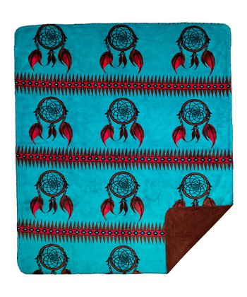 Dreamcatcher Double-Sided Throw Blanket