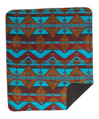 Native Journey Double-Sided Throw Blanket