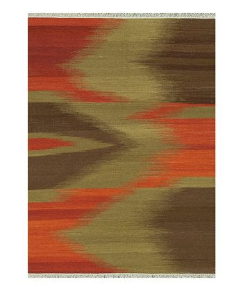 Brown Santana Wool Rug