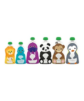 Squooshi Reusable Food Pouch Set