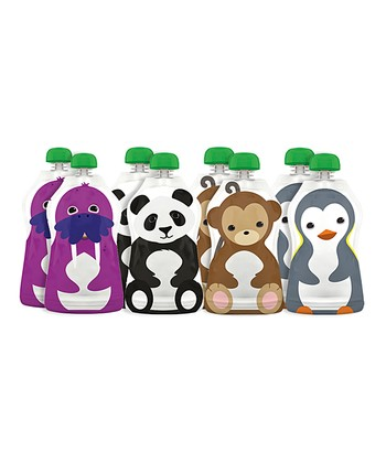 Squooshi Large Reusable Food Pouch Set