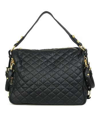 Black Mira Shoulder Bag