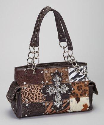 Brown Safari Cross Shoulder Bag