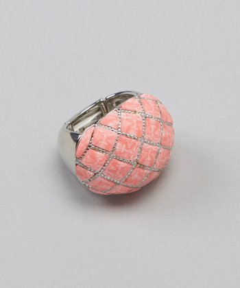 Coral Reef Stretch Cocktail Ring