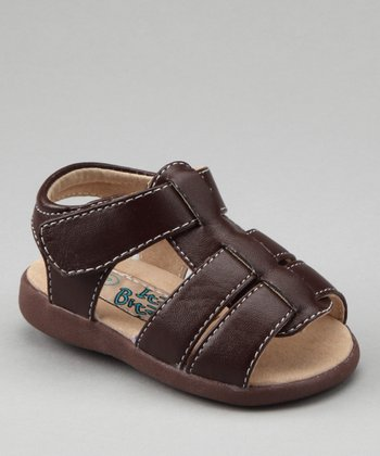 Brown Squeaker Sandal