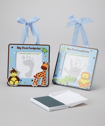 Blue Jungle 'My First' Hand & Footprint Set