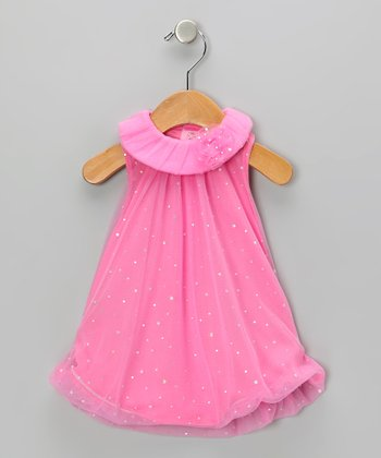 Pink Sparkle Bubble Romper