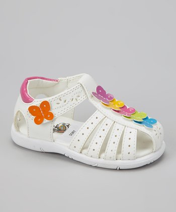 White Dory Closed-Toe Sandal