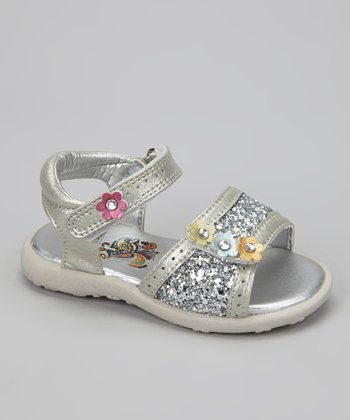 Silver Metallic Brielle Sandal