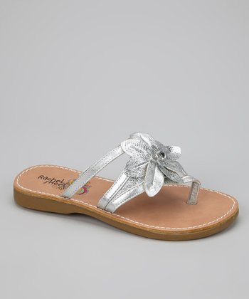 Silver Metallic Savannah Sandal