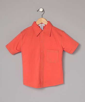 Poppy Snap-Front Shirt - Infant, Toddler & Boys