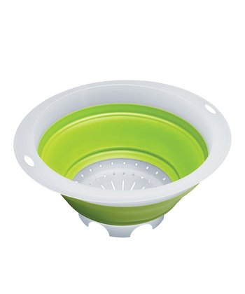 Green 5-Qt. Collapsible Colander