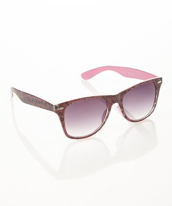 Pink Lace Sunglasses
