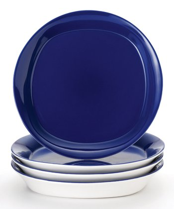 Blue Salad Plate - Set of Four