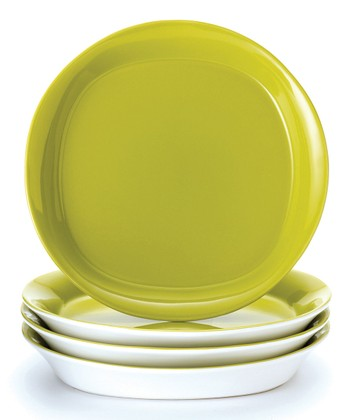Green Salad Plate - Set of Four